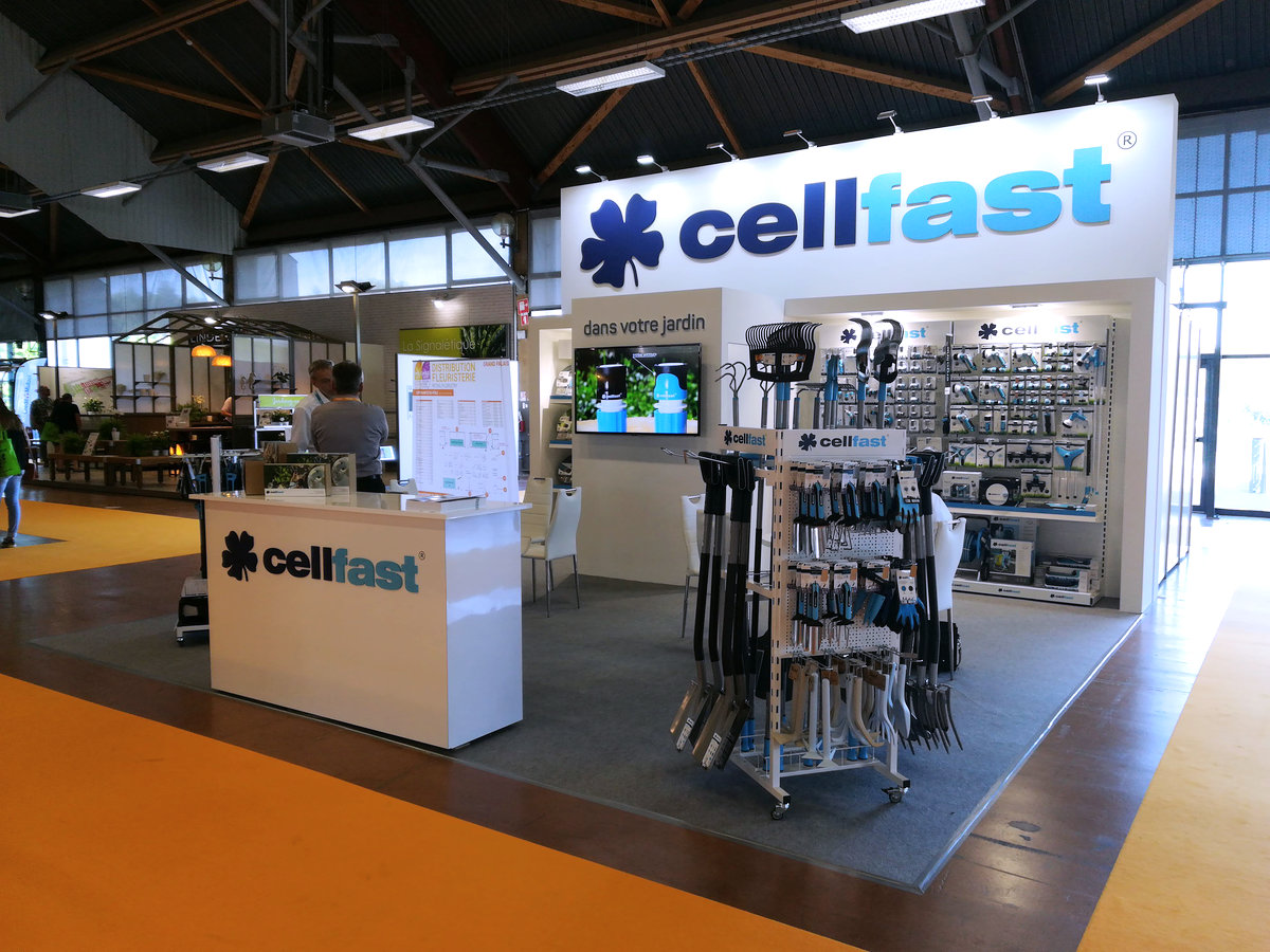 Salon du Végétal 2018 Nantes / France | CELLFAST